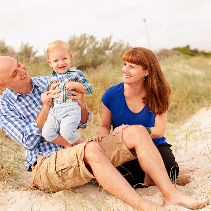 Autumn at the beach | Adelaide family photography