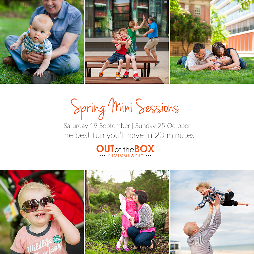 Spring mini sessions adelaide family photography