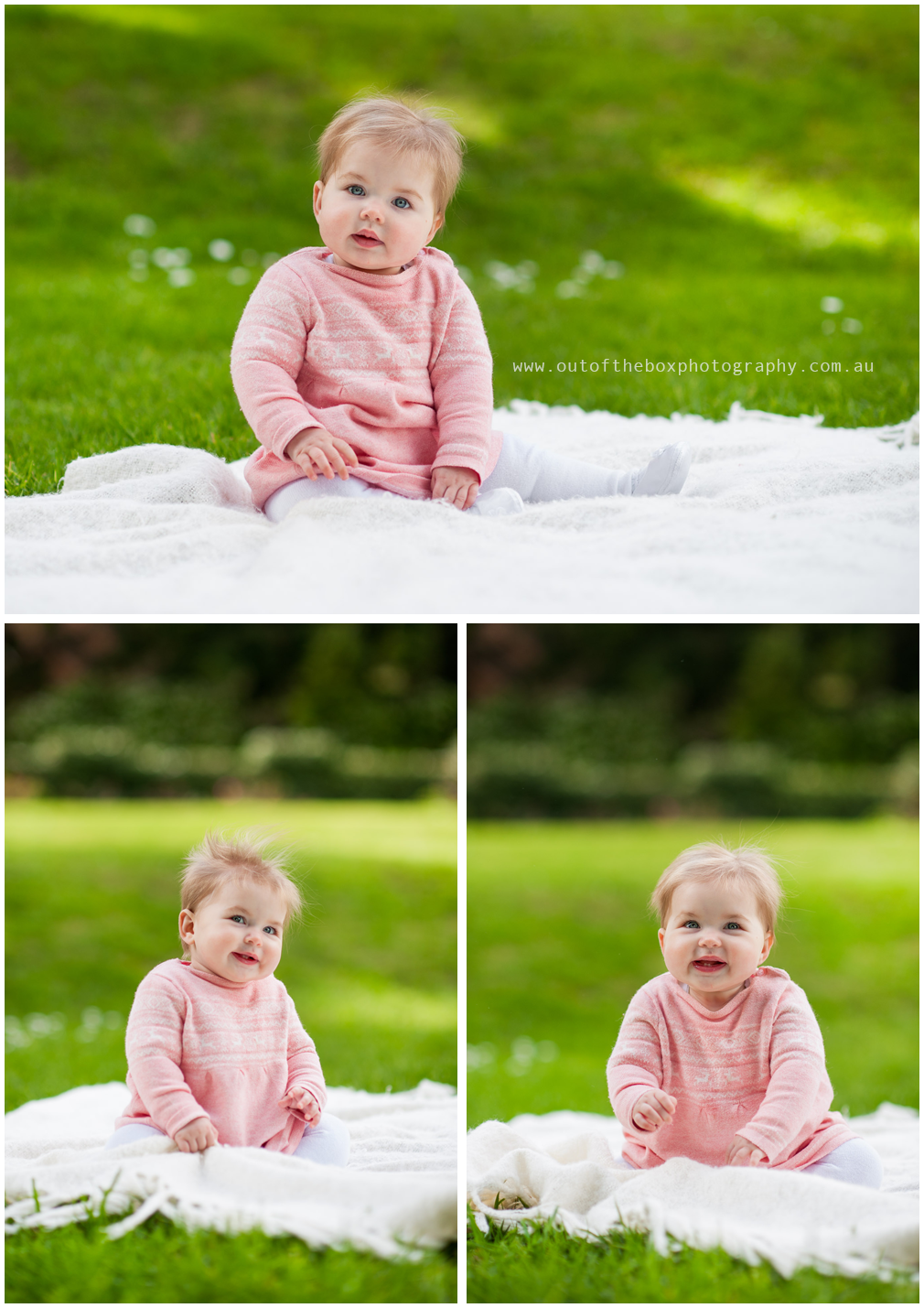 6-month-old-baby-girl-on-the-grass-laughing