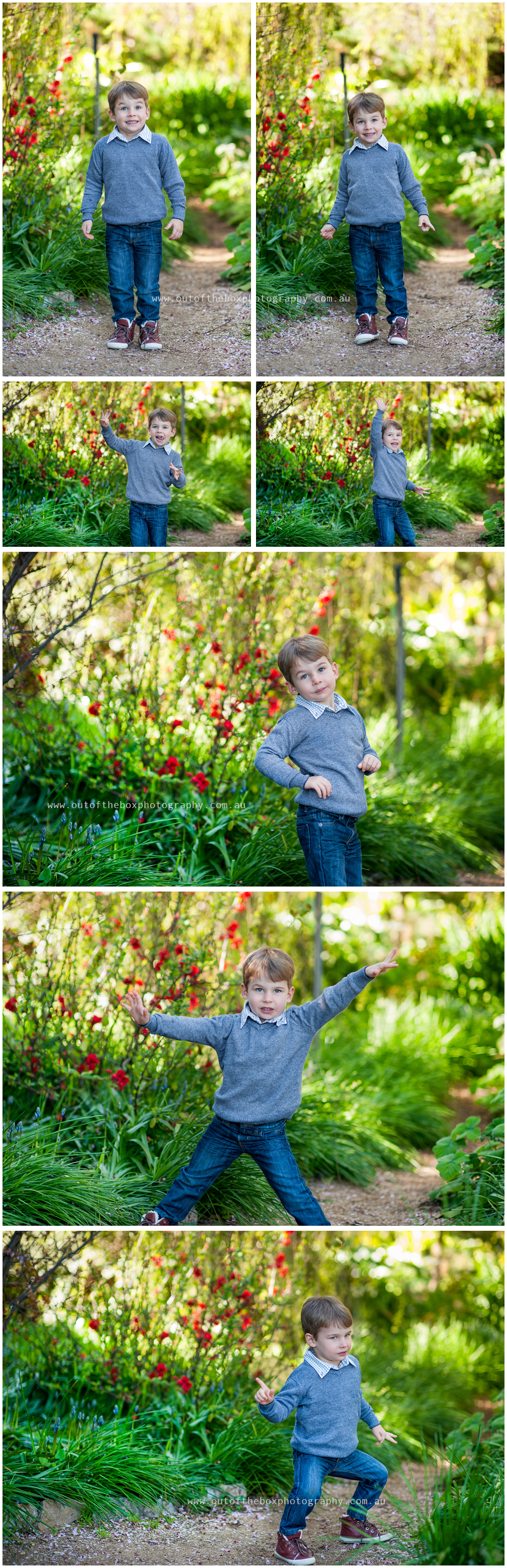 Boy-making-funny-poses-for-the-camera