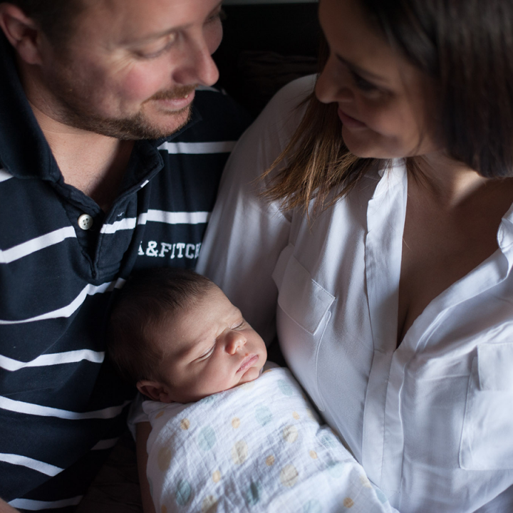 Master E 10 days new | Adelaide Newborn Photography