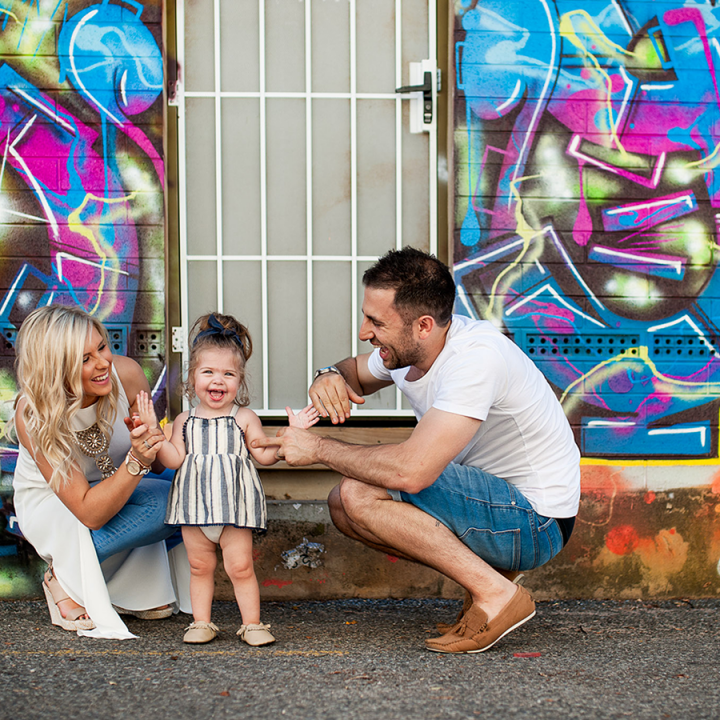 Smiles in the City | Adelaide Family Photography